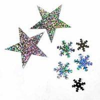 פייטים בצורות, פייטים כוכב, פייטים פתיתי שלג